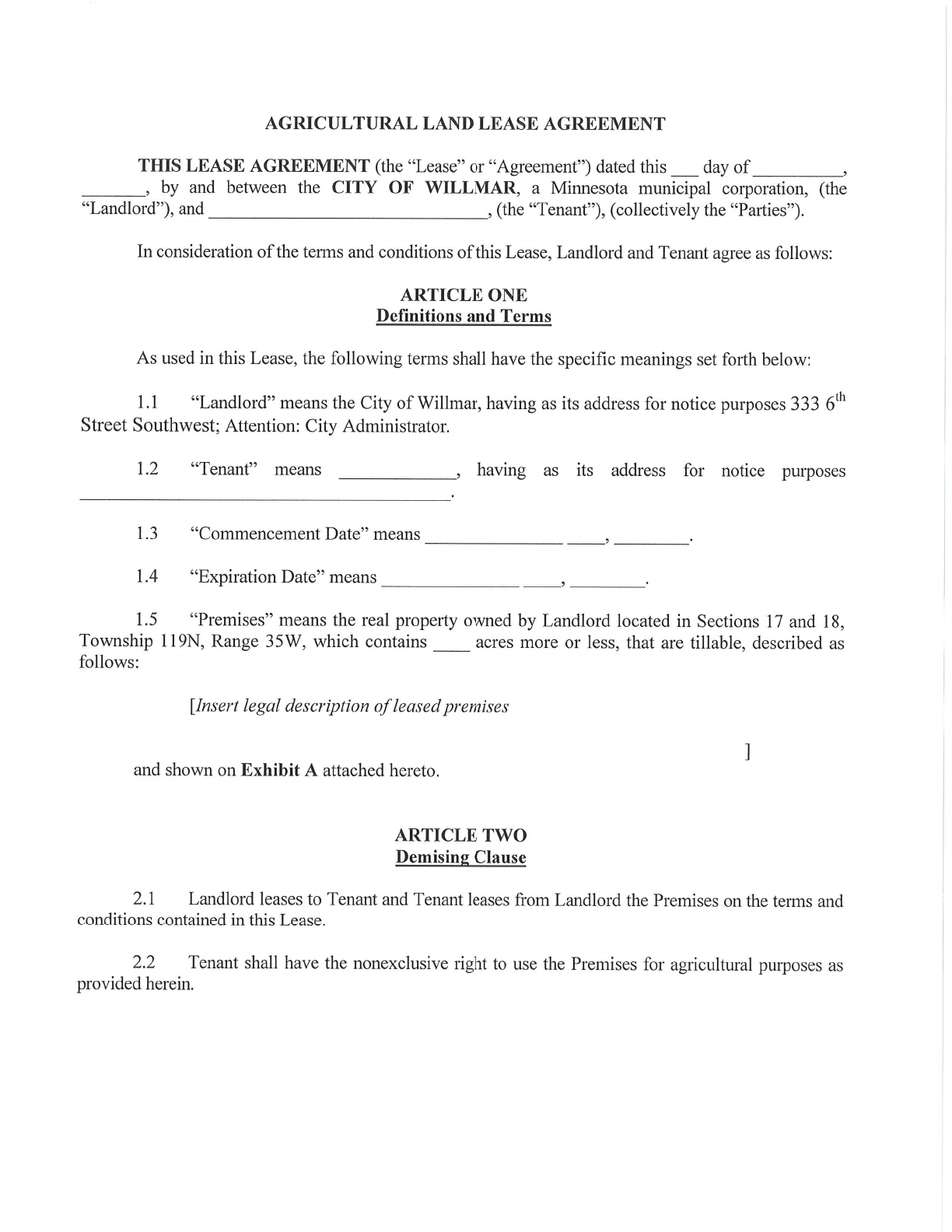 Download Agricultural Land Lease Agreement For Free Tidytemplates