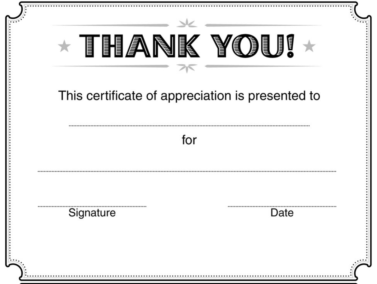 Download Certificate Of Appreciation Template 2 For Free Tidytemplates