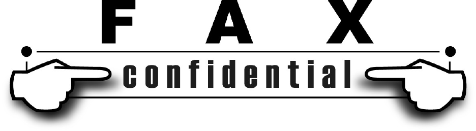 Confidential Fax Cover Sheet 1