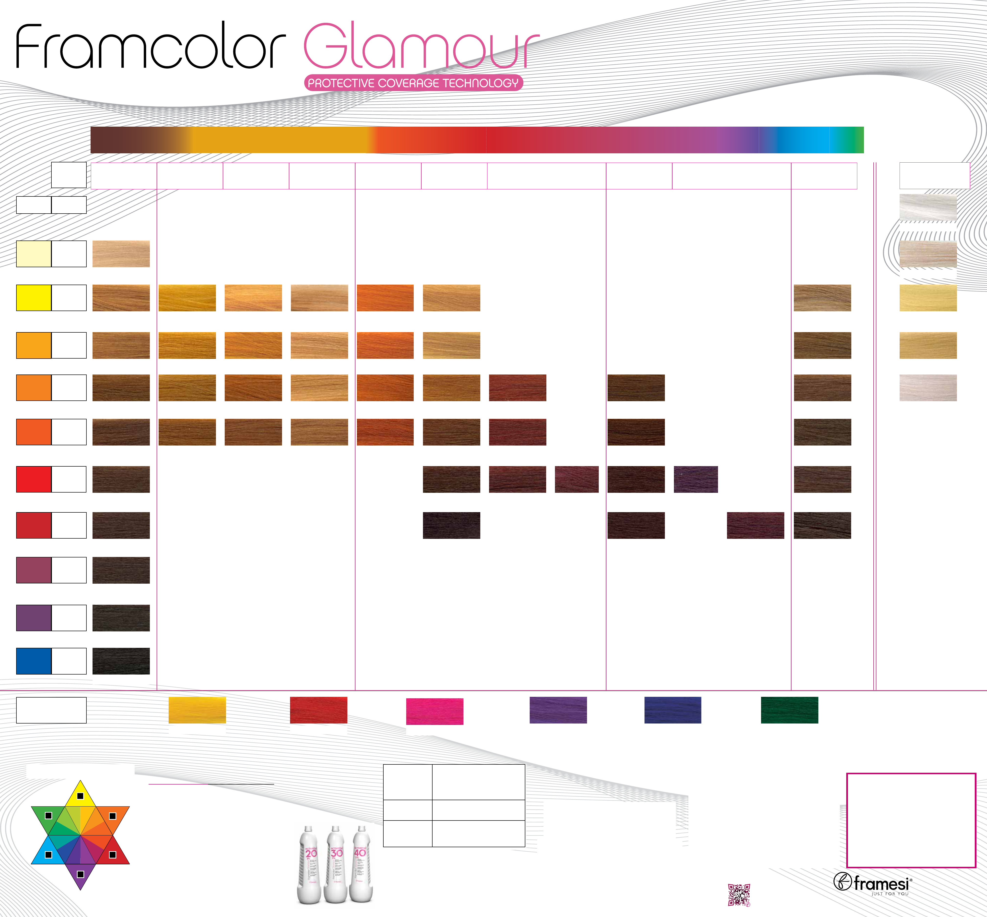 Download Framcolor Glamour Hair Color Wall Chart For Free
