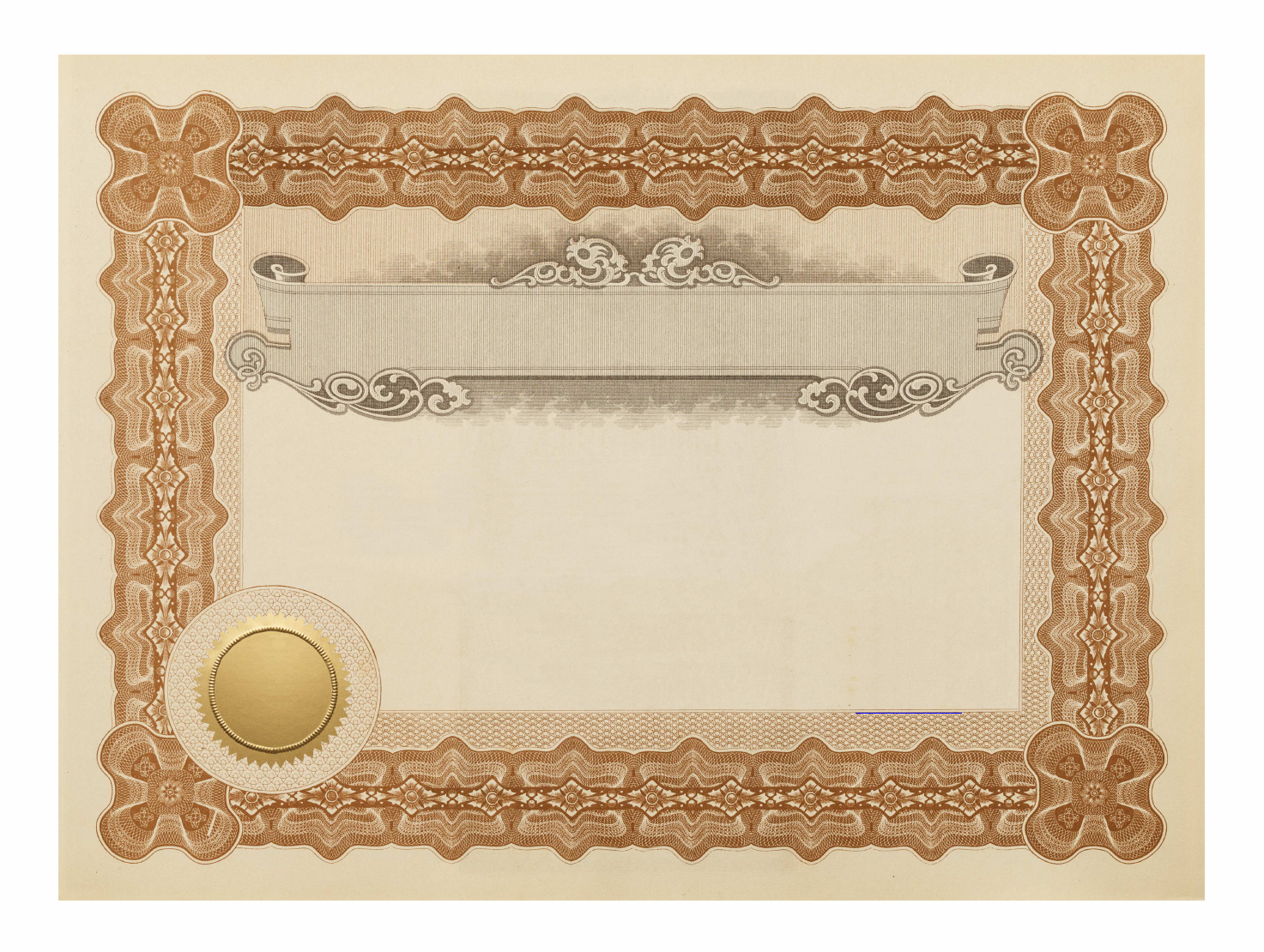 Download Free Common Stock Certificate Template Download For Free