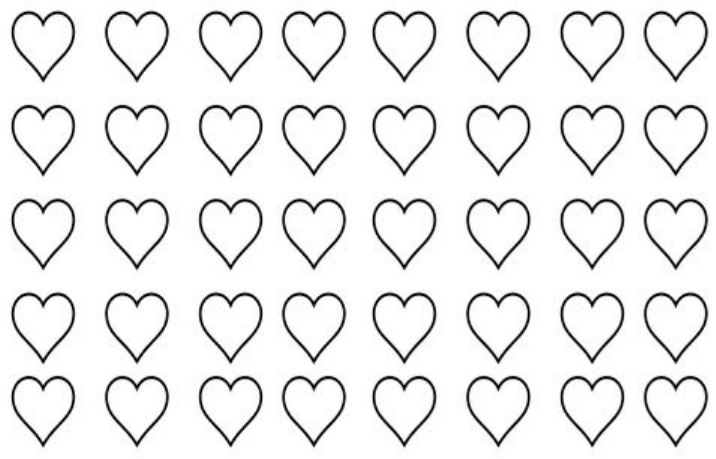 download free heart shaped macaron template word download for free