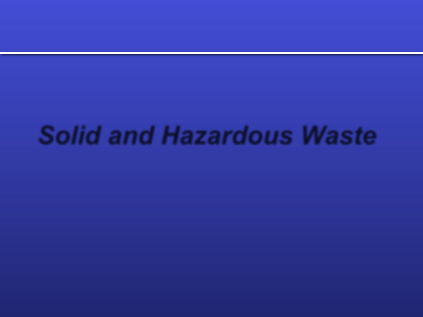 download hazardous waste management ppt for free