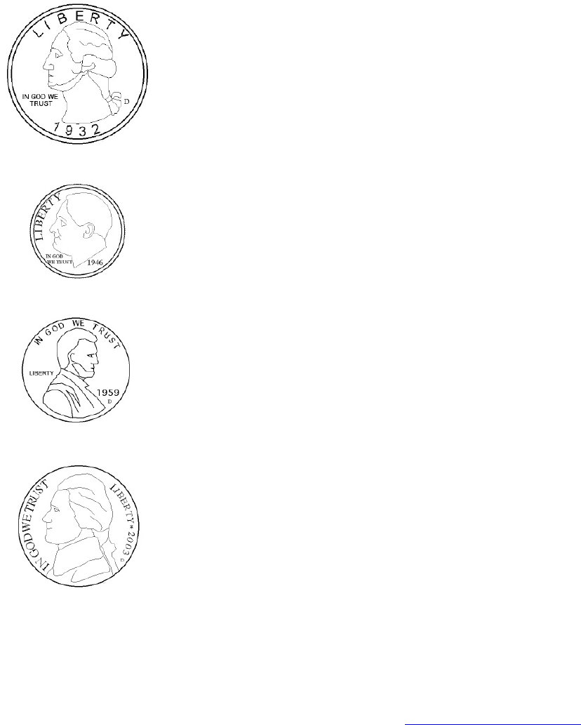 Download Identify Coins Money Worksheets For Kids Template