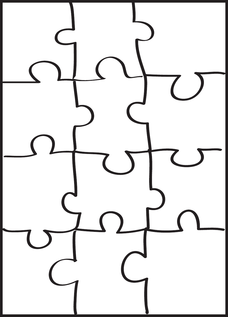 Download Puzzle Pattern Template Pdf Free Download For Free