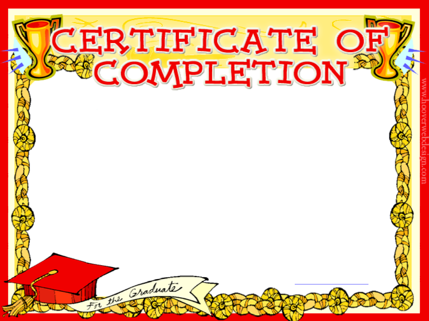 Download Sunday School Completion Certificate Template For Free