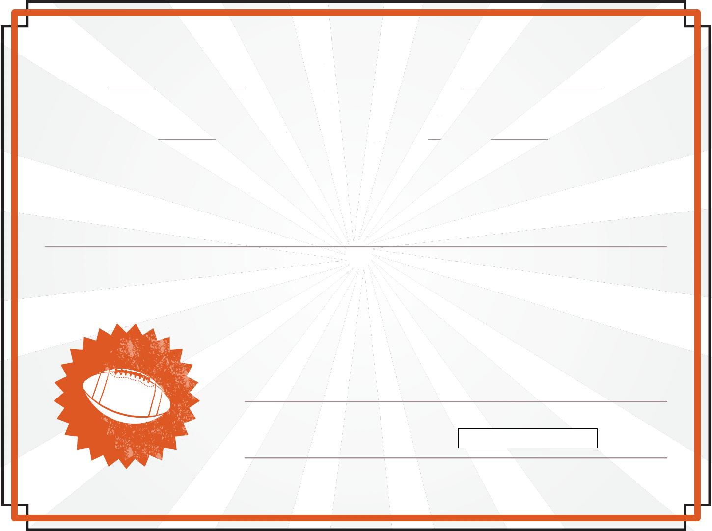 Download Team Spirit Award Certificate For Free