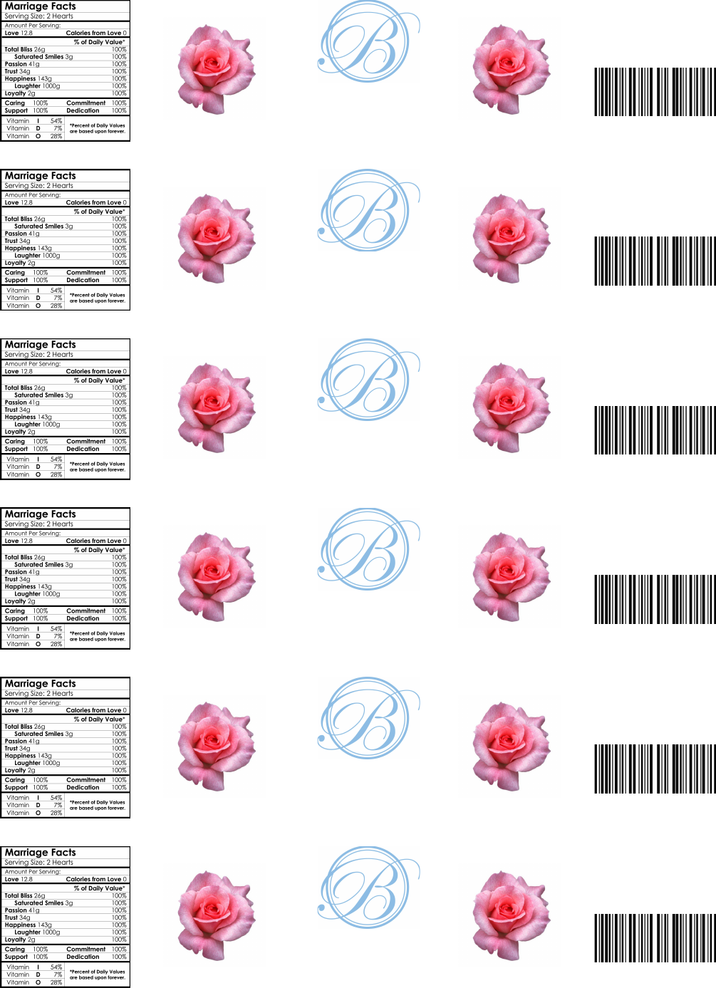 Download Water Bottle Label Template 3 For Free Tidytemplates