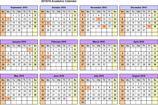 Academic Calendar Template