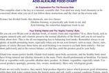 Acid Alkaline Food Chart