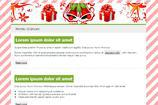 Christmas Email Newsletter Templates