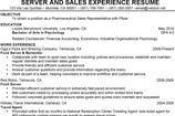 Waitress Resume Templates