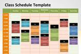 PowerPoint Schedule Template