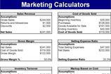 Marketing Calculators