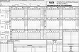 Volleyball Score Sheet