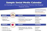 Social Media Calendar Templates