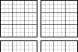 Printable Sudoku Grids