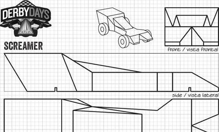 Cool Pinewood Derby Templates