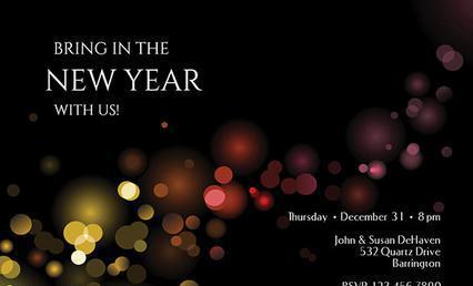 New Year Invitation Templates
