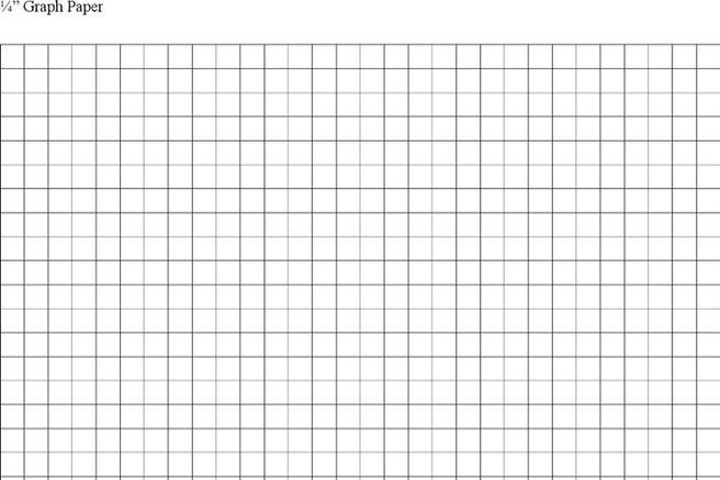 8 Graph Paper Templates Free Download