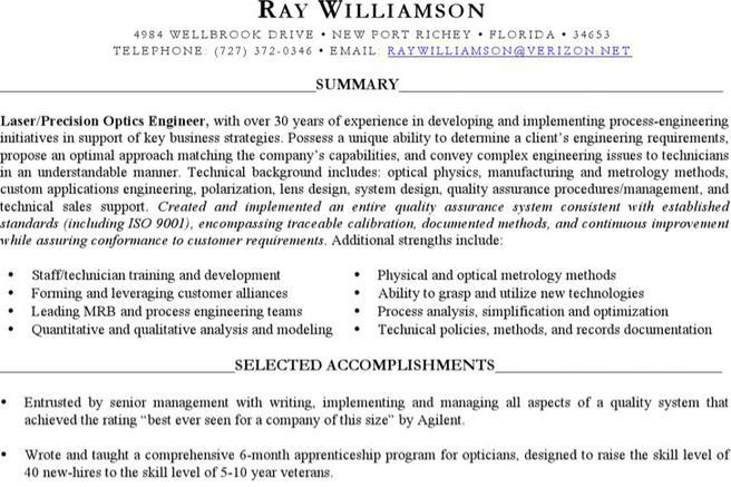 6 Optician Resume Templates Free Download