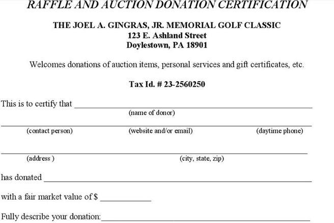 6  donation certificate templates free download