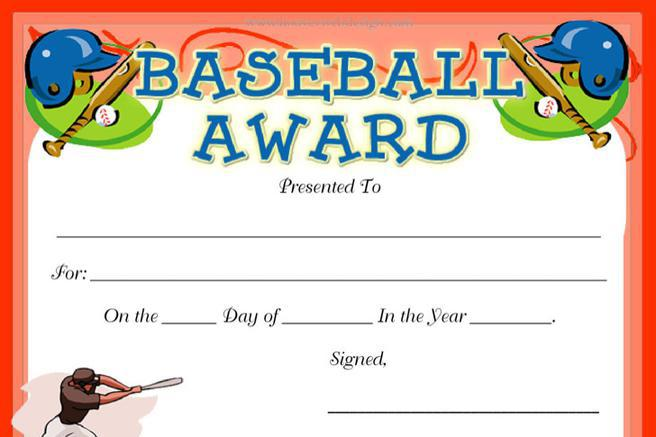 Baseball certificate templates download free premium templates baseball certificate templates download free premium templates forms samples for jpeg png pdf word and excel formats yadclub Choice Image