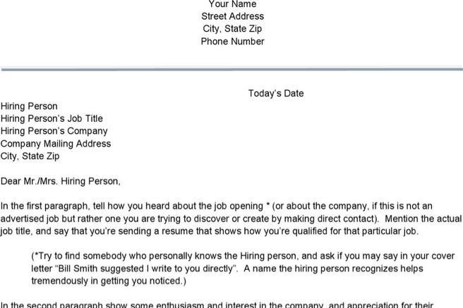 56+ Cover Letter Examples Free Download