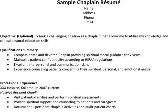 6 Hospice Resume Templates Free Download
