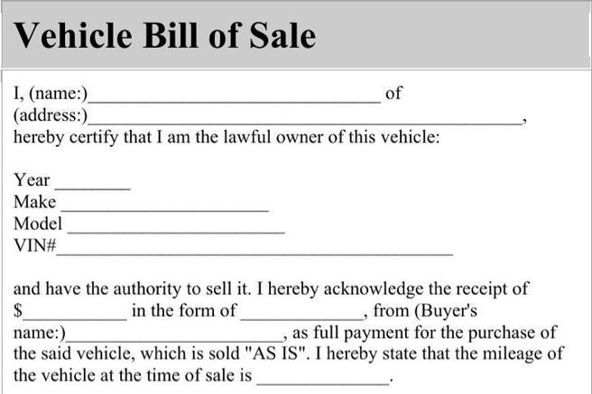 download bill of sale form for free tidytemplates. Black Bedroom Furniture Sets. Home Design Ideas