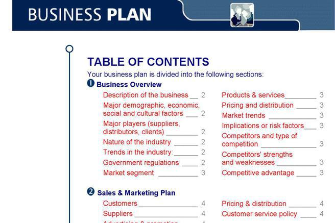 6 business plan template free download free business plan template flashek