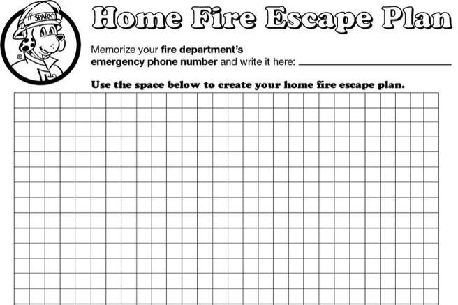4+ Home Evacuation Plan Templates Free Download