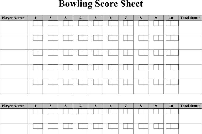 3 bowling score sheet free download