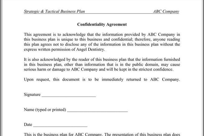 Download confidentiality agreement templates for free tidytemplates wajeb Gallery