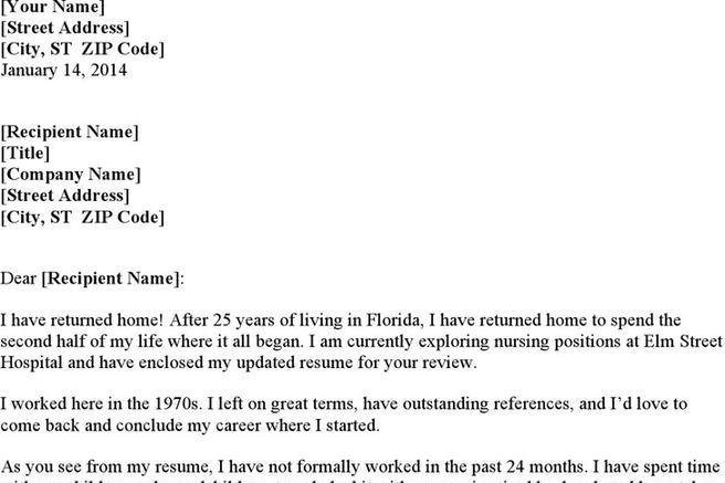 2+ Nursing Cover Letter Examples Free Download