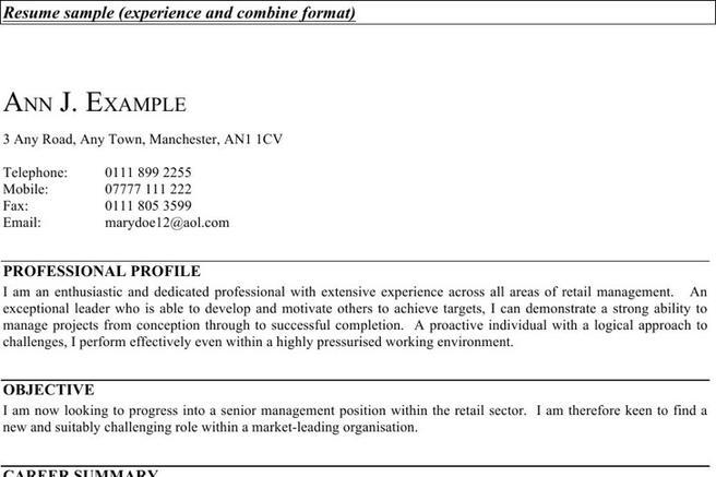 8+ Supervisor Resume Templates Free Download