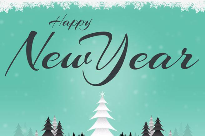 14 new year email template free download