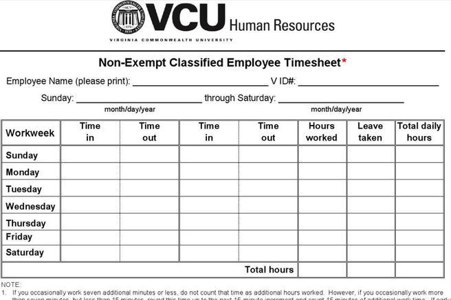 11 Overtime Sheet Templates Free Download