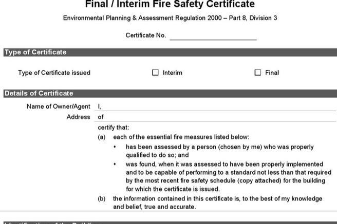 Download Safety Certificate Templates For Free Tidytemplates