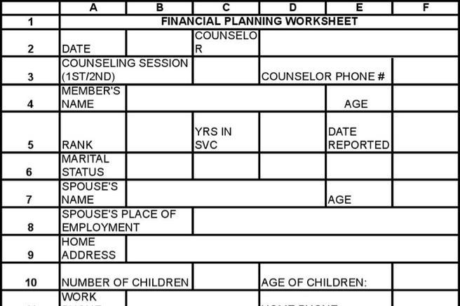 download financial worksheet templates for free tidytemplates