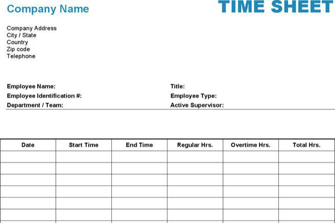 12 hr timesheet templates free download