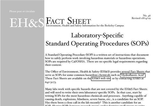 13  standard operating procedure template free download