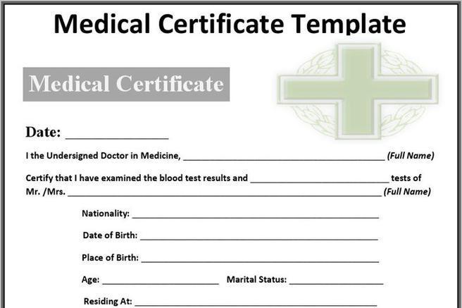2 medical certificate sample free download. Black Bedroom Furniture Sets. Home Design Ideas
