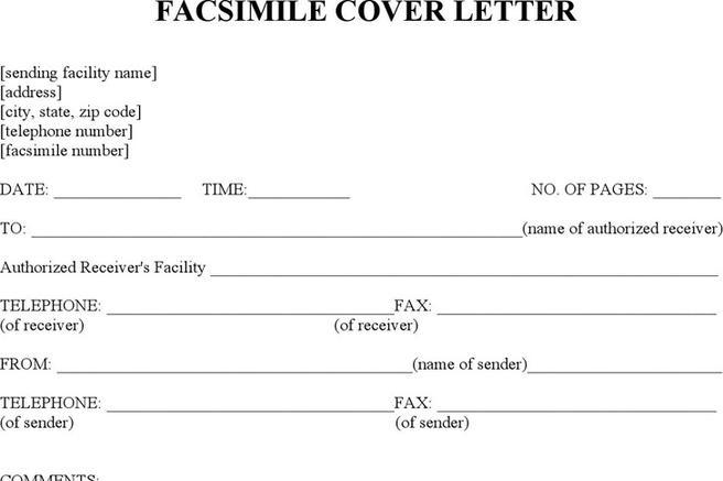 80+ Fax Cover Sheet Free Download