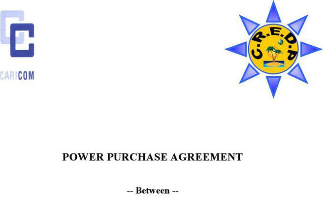 solar power purchase agreement template - 3 power purchase agreement free download