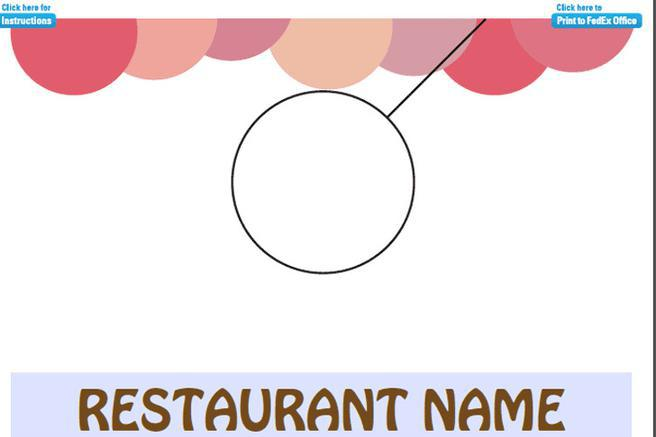Education Door Hanger Template · Restaurants Door Hanger Template