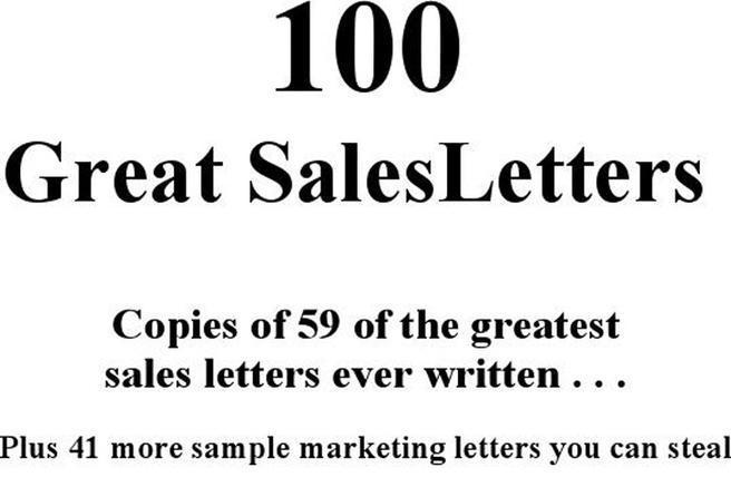 2 Sales Letter Sample Free Download