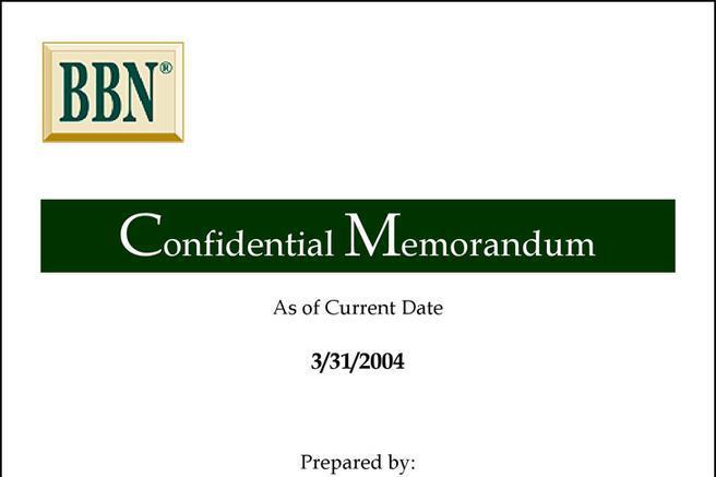 3 confidential memo template free download