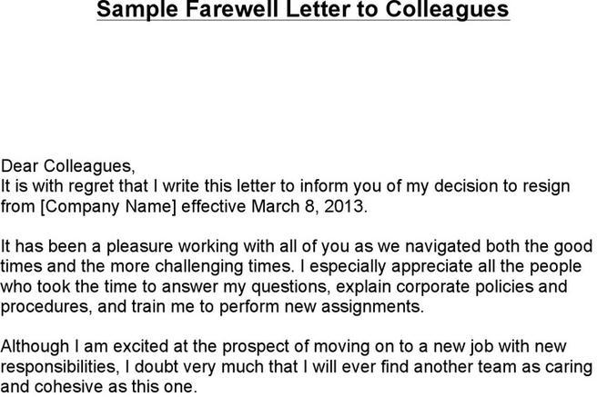 Download farewell letter for free tidytemplates expocarfo Images