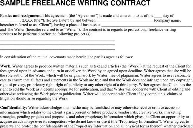 Download freelance contract template for free tidytemplates for Freelance employment contract template